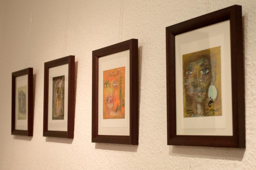 """Ausstellung """"Blicke"""" von Shahla Aghapour"""