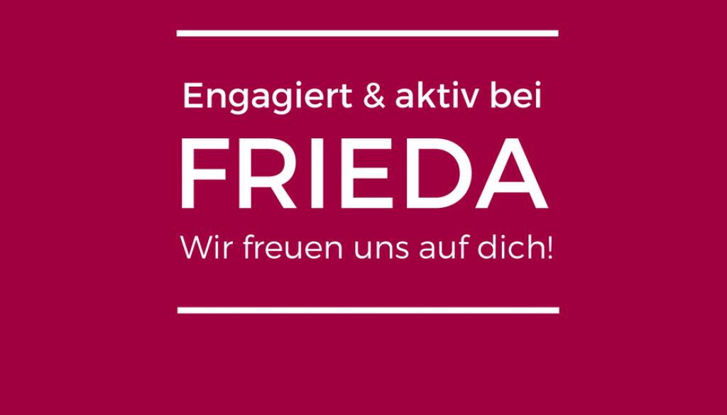 Aktiv_u_engagiert_bei_FRIEDA Ⓒ FRIEDA
