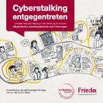 Dokumentation Cyberstalking entgegentreten: Möglichkeiten, Handlungsbedarfe und Forderungen, 2016 © Anti-Stalking-Projekt, FRIEDA-Frauenzentrum e. V.