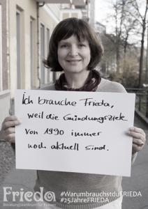 3 Frauen - 3 Fragen: Elke, Gründungs- und Vereinsfrau © FRIEDA