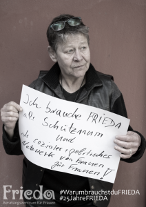 3 Frauen - 3 Fragen: Leo, langjährige Wegbegleiterin © FRIEDA