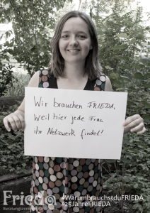 3 Frauen - 3 Fragen: Yvonne, Vereins- und Vorstandsfrau © FRIEDA