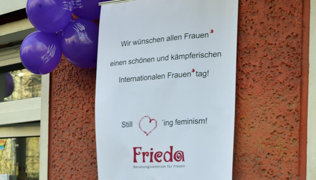 Ansicht des FRIEDA-Beratungszentrums für Frauen
