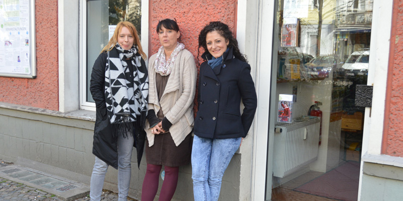 Besuch Cansel Kiziltepe © FRIEDA