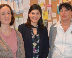 Besuch von Derya Çağlar, Sprecherin für Gleichstellung (MdA, SPD)