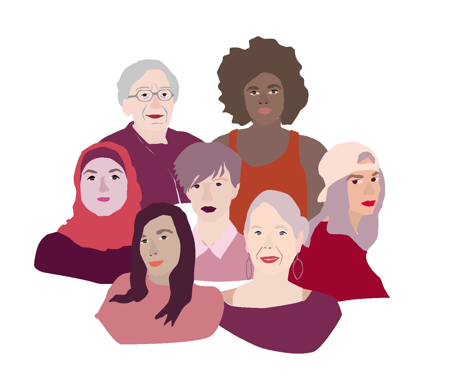Titelbild 7 Frauen*
