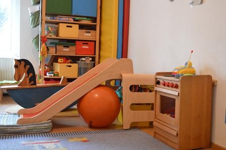 Kinderzimmer im FRIEDA