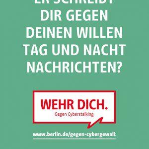 Cyberstalking Plakat