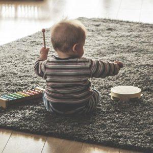 music_kids_children_play_xylophone_tambourine