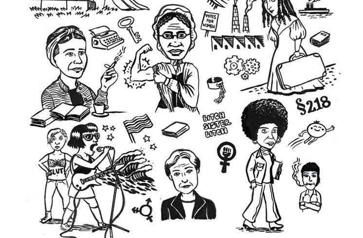 """Ausstellung """"Kleine Geschichte des Feminismus im euro-amerikanischen Kontext"""""""