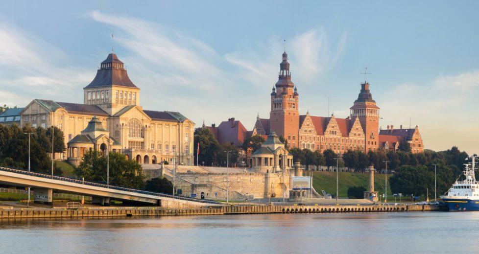 Hakenterrassen in Stettin Polen-175457291