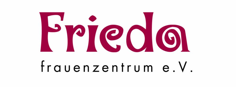 Logo FRIEDA Frauenzentrum Titelbild Facebook