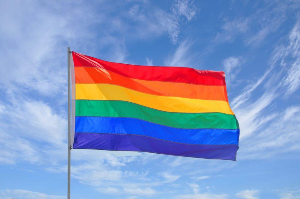 b. Regenbogen Fahne