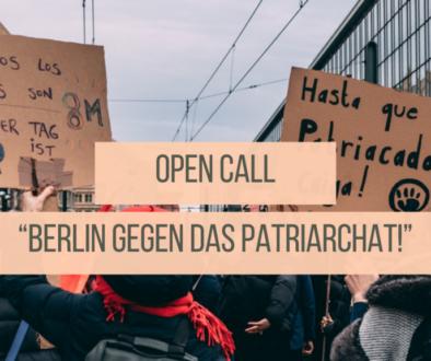 Berlin gegen das Patriarchat!