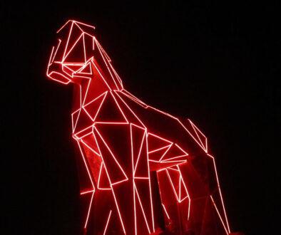 Trojanisches Pferd leuchtend
