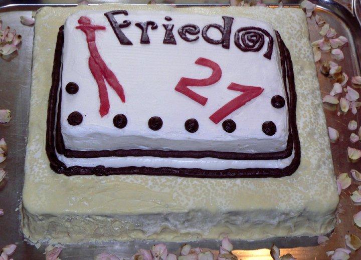 FRIEDAs 21. Geburtstag © FRIEDA