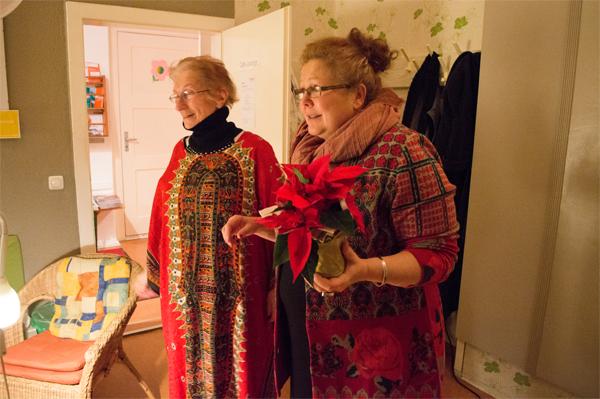 Weihnachtslesung mit Edith Charlotte Kittel © FRIEDA