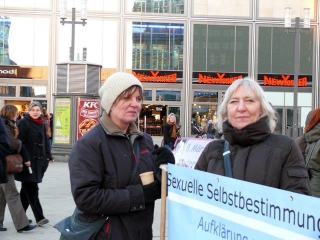 Demonstration zum 8. März © L R Tesch
