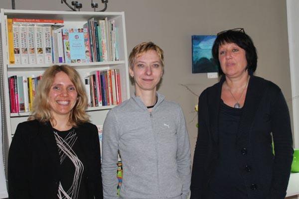 Besuch von Halina Wawzyniak