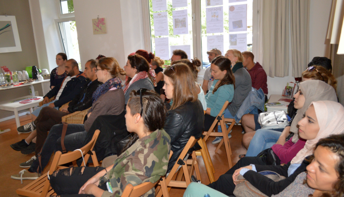 Besuch der internationalen Jugendgemeinschaftsorganisation e.V. ( ijgd) © FRIEDA