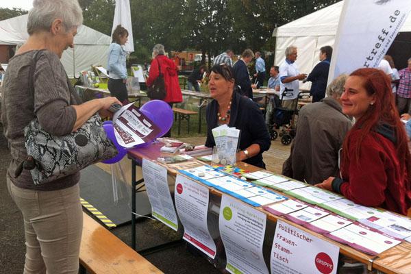 Austausch auf dem Selbsthilfe-Festival