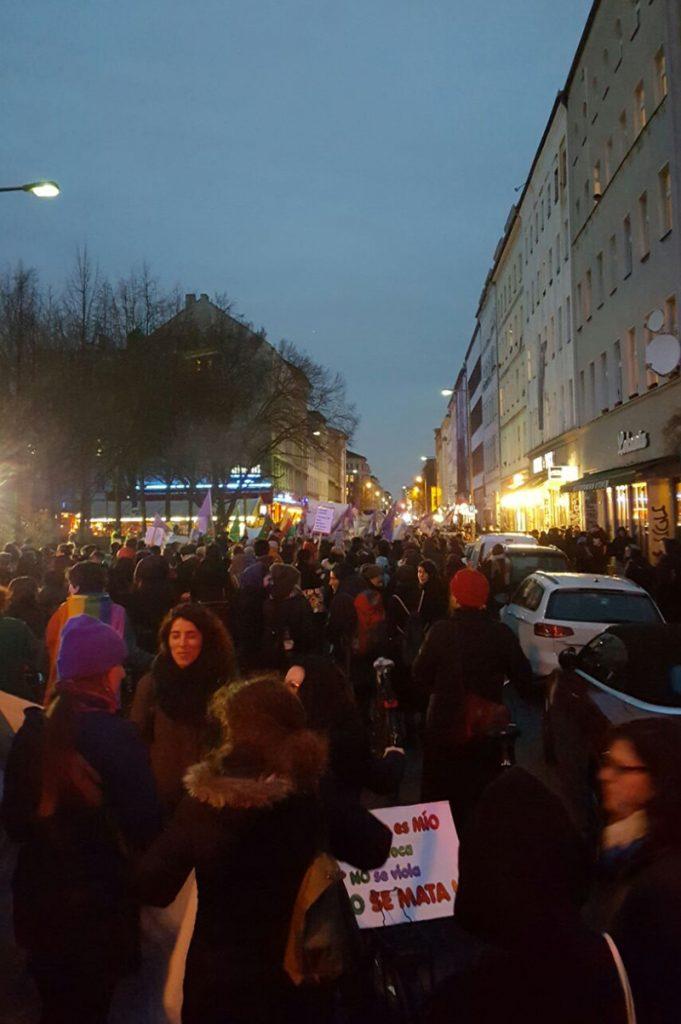 Frauenstreiktag mit FRIEDA am 08. März 2017