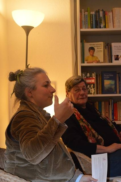 Ilona Scheidle und Dr. Ilse Kokula © FRIEDA