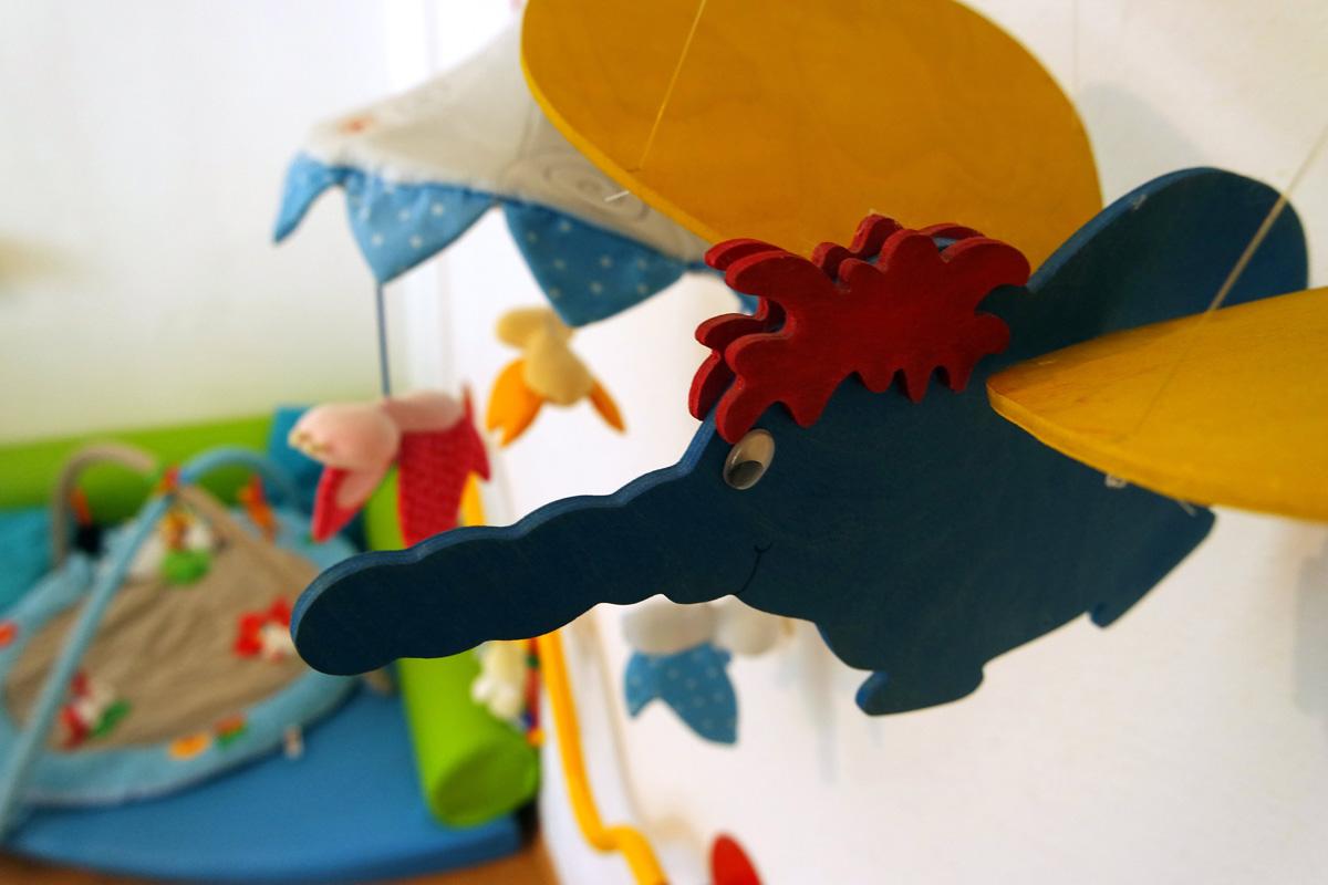 Kinderzimmer imFrieda-Beratungszentrum für Frauen* © FRIEDA