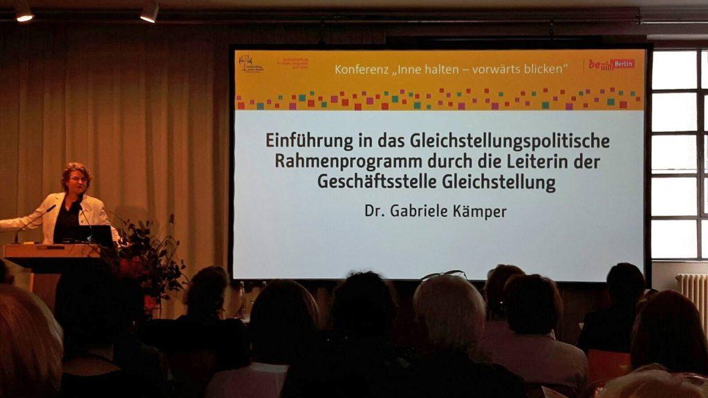 """Konferenz: """"Inne halten – vorwärts blicken"""" © FRIEDA"""
