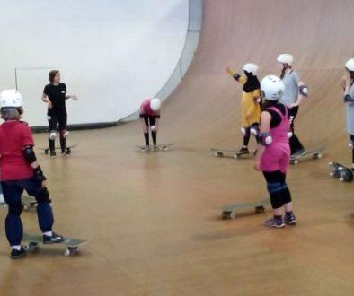 Mädchen*aktionstag Skateboard-Workshop