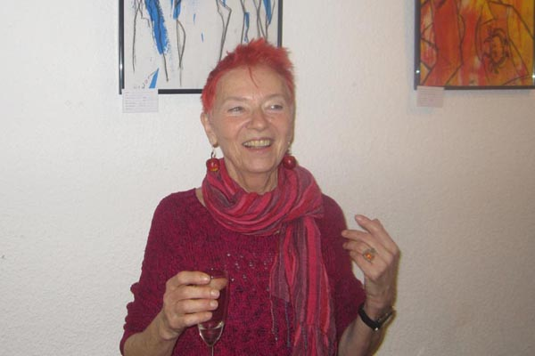 Vernissage mit Silvia Osterhorn