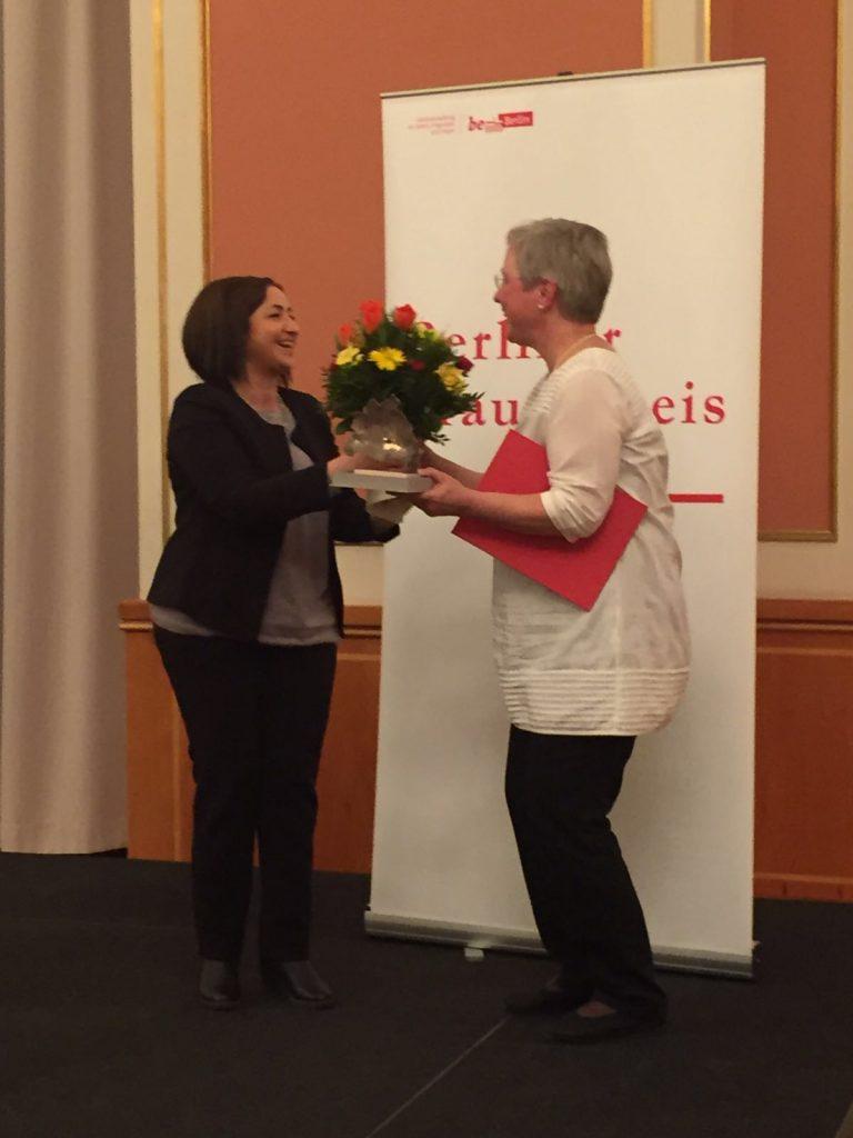 Verleihung des Berliner Frauenpreises 2016 © FRIEDA